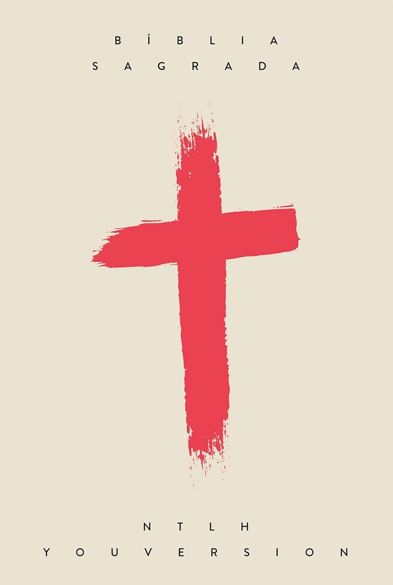 Bíblia NTLH YouVersion Cruz Coral - Letra Normal