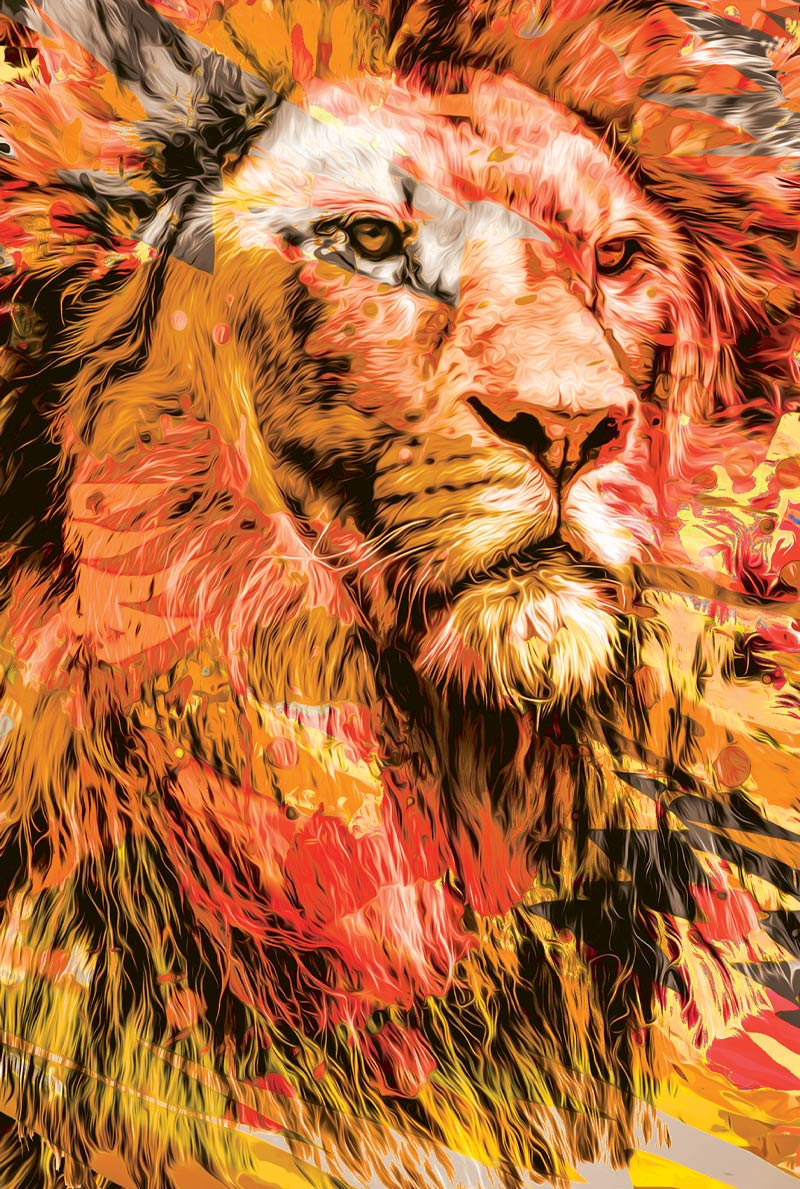 Bíblia NTLH YouVersion The Lion / Fogo - Letra Normal