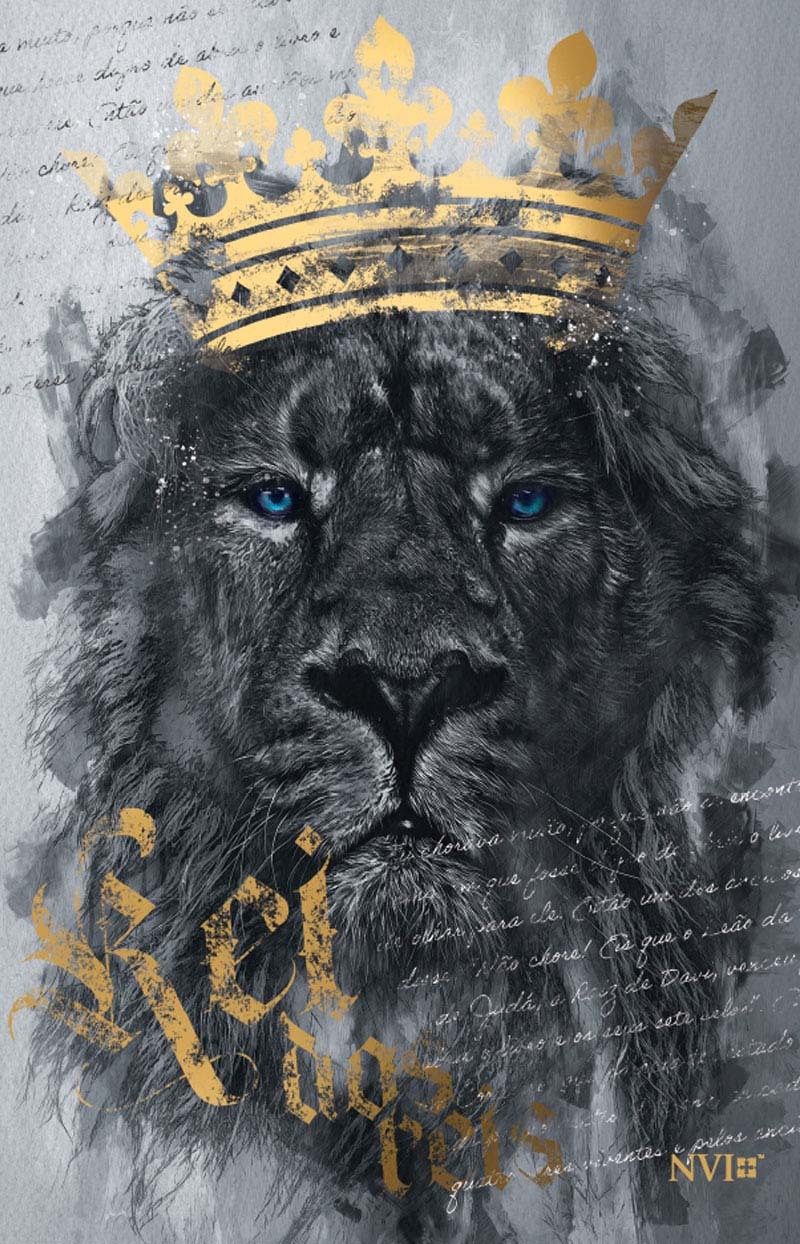 Bíblia NVI Rei dos Reis - Luxo Slim
