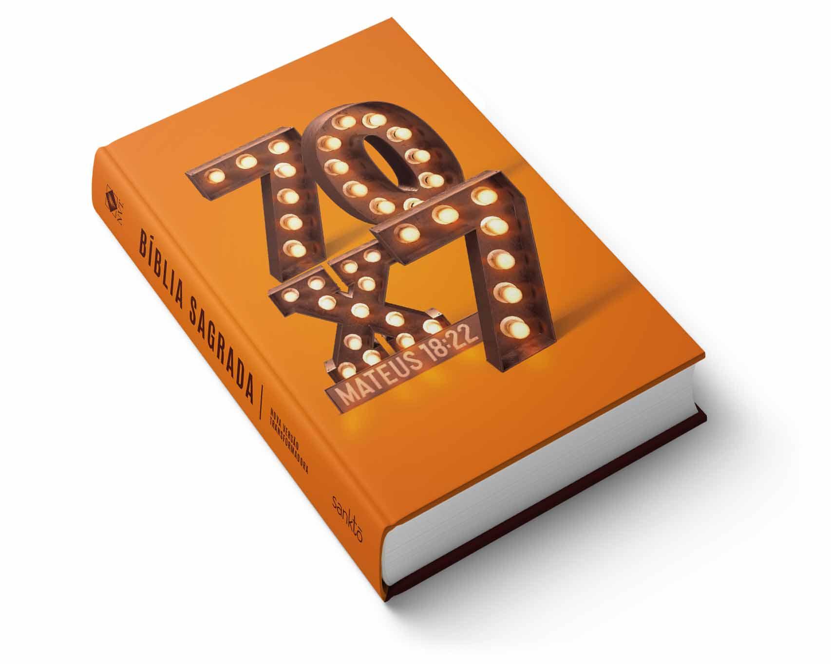 Bíblia NVT  70x7  - Sankto   Crer para entender