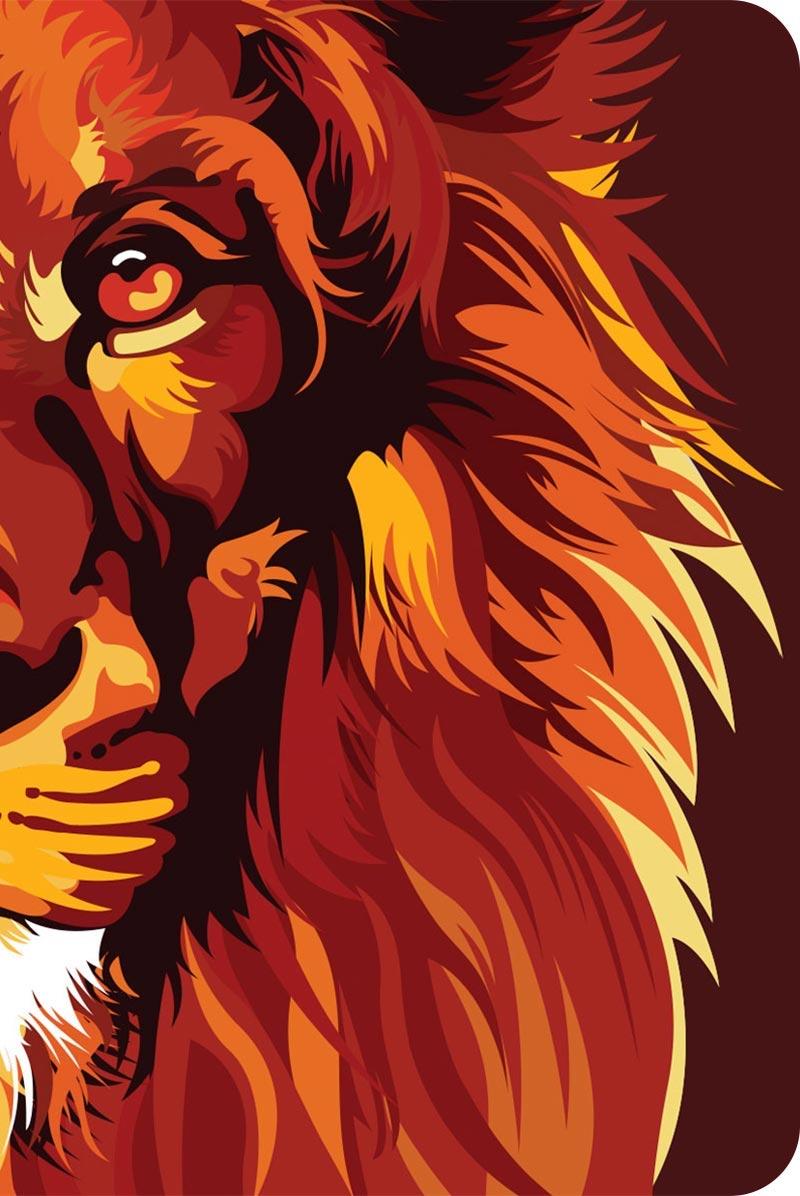 Bíblia NVT 960 Lion Colors Fire