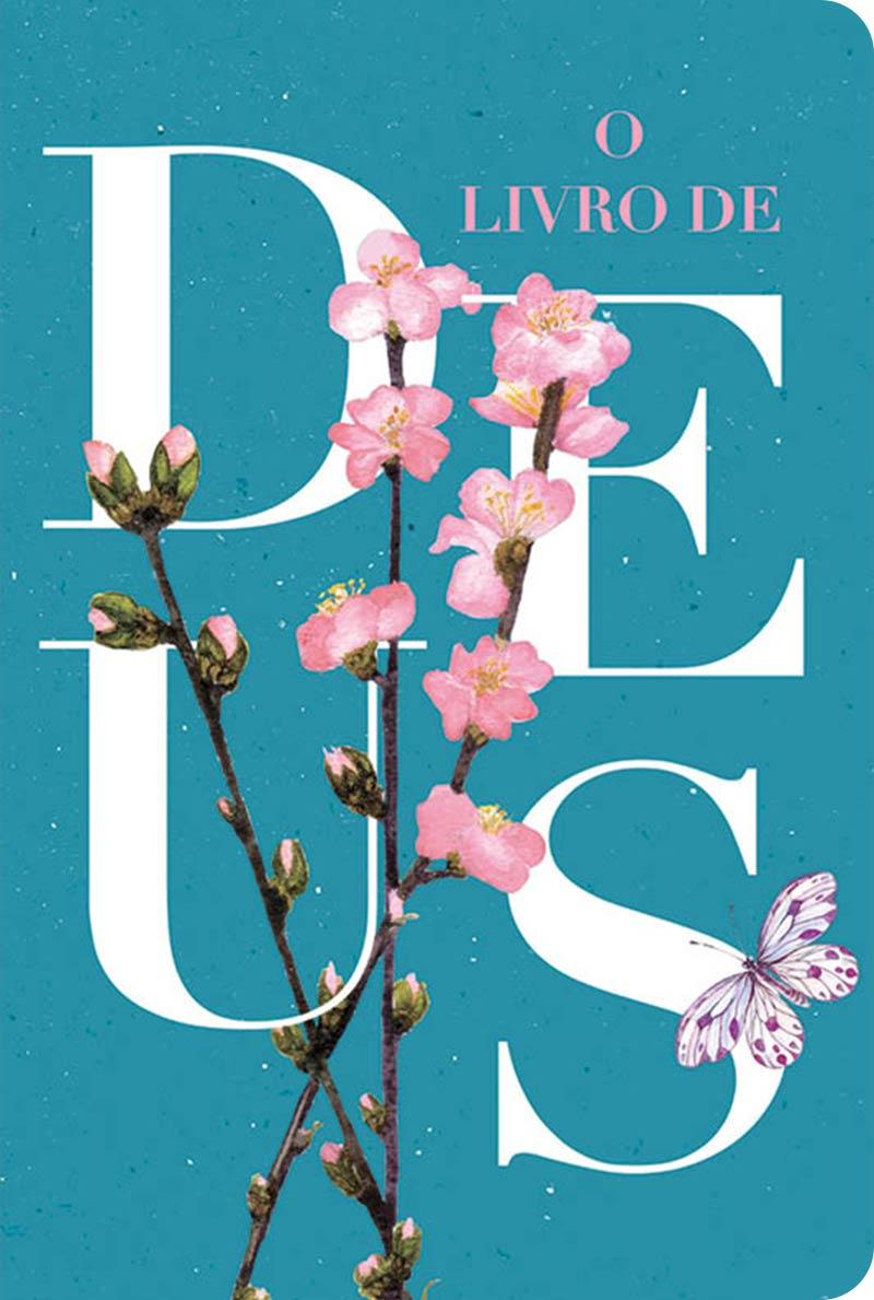 Bíblia NVT 960 O Livro de Deus Azul