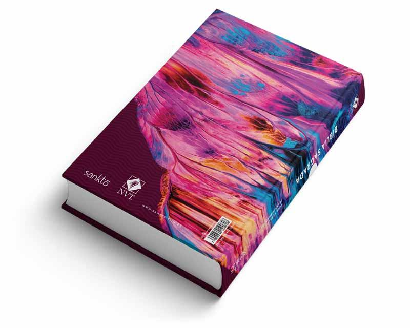 Bíblia NVT Amor perfeito Ela Letra Normal  - Sankto   Crer para entender