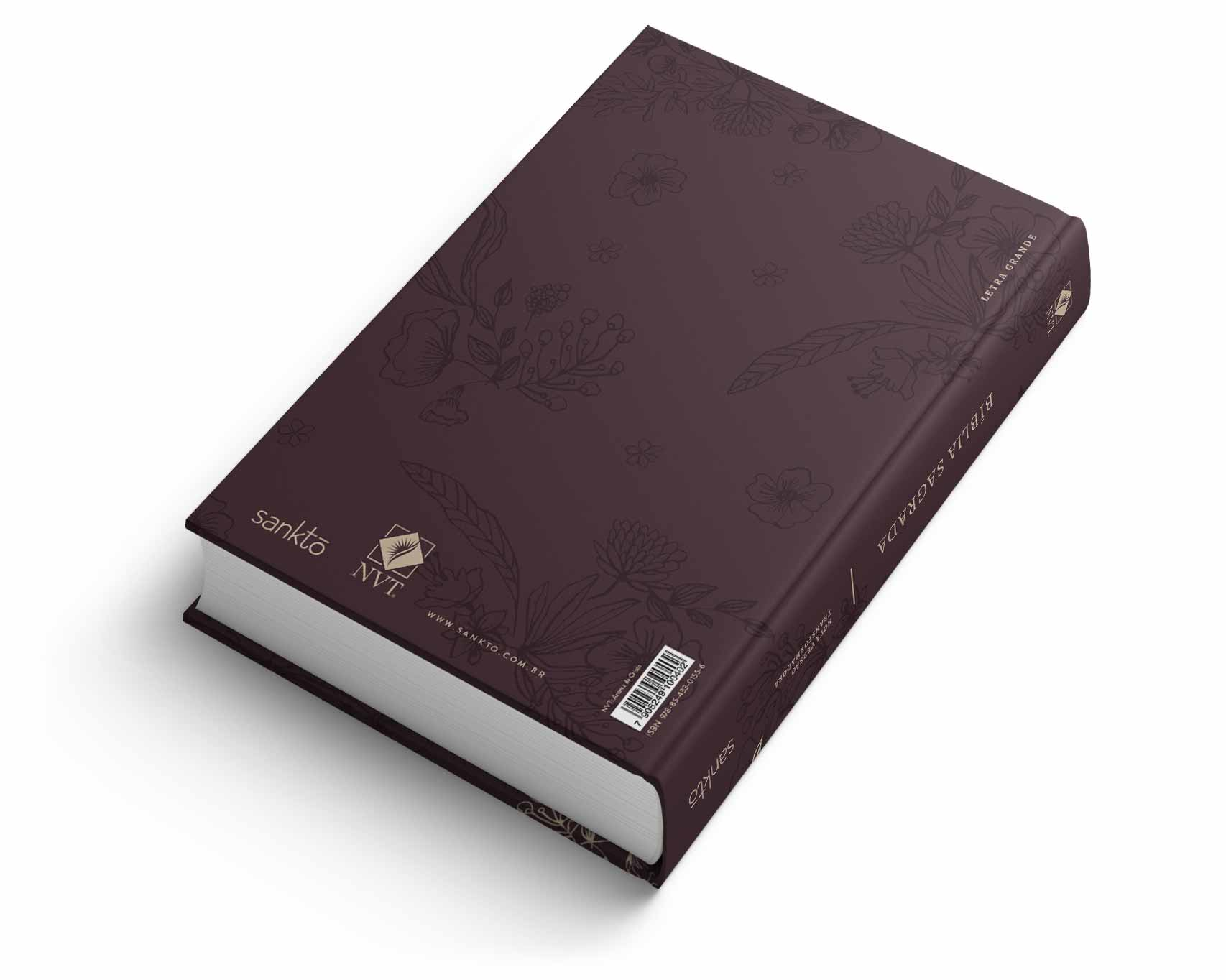 Bíblia NVT Aroma de Cristo Letra Grande  - Sankto | Crer para entender