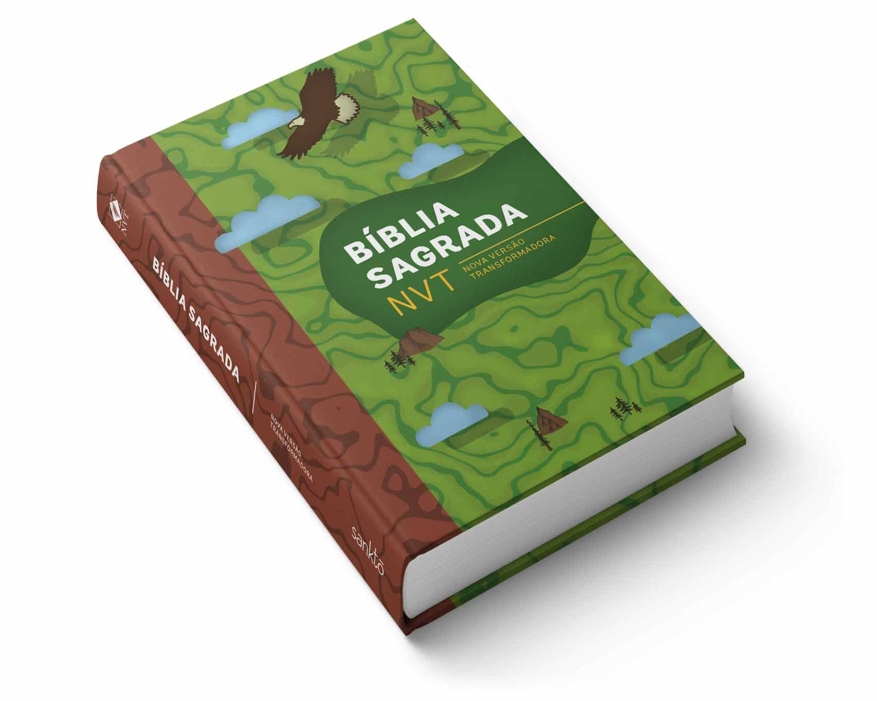 Bíblia NVT Aventura Verde  - Sankto | Crer para entender