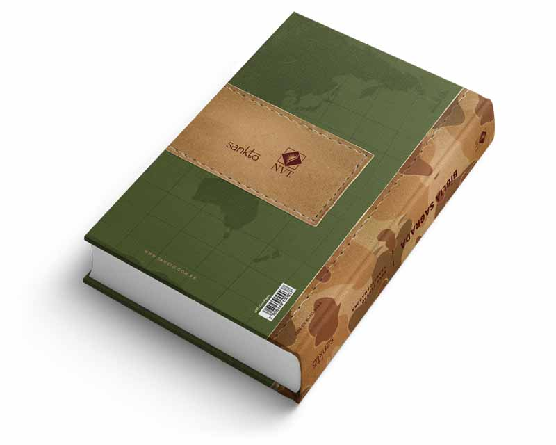 Bíblia NVT Camuflagem  - Sankto | Crer para entender