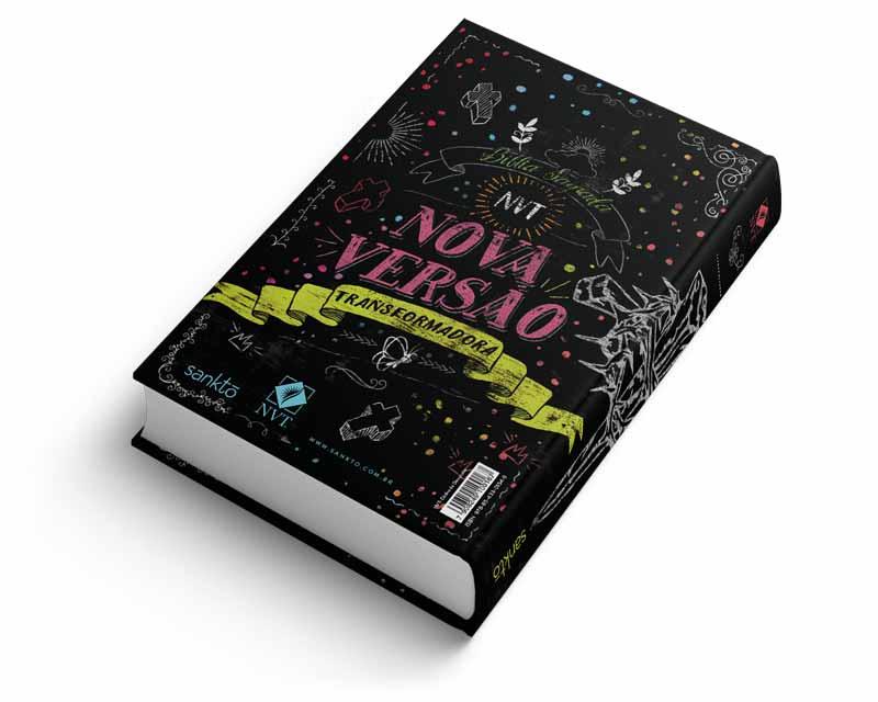 Bíblia NVT Dádiva de Deus Color Letra Normal  - Sankto | Crer para entender