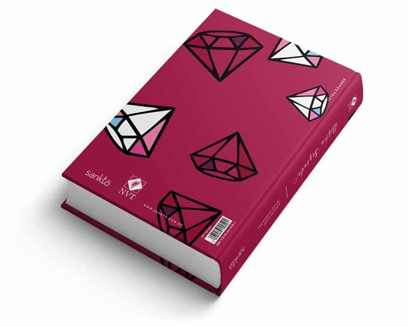 Bíblia NVT Diamonds Letra Grande  - Sankto | Crer para entender