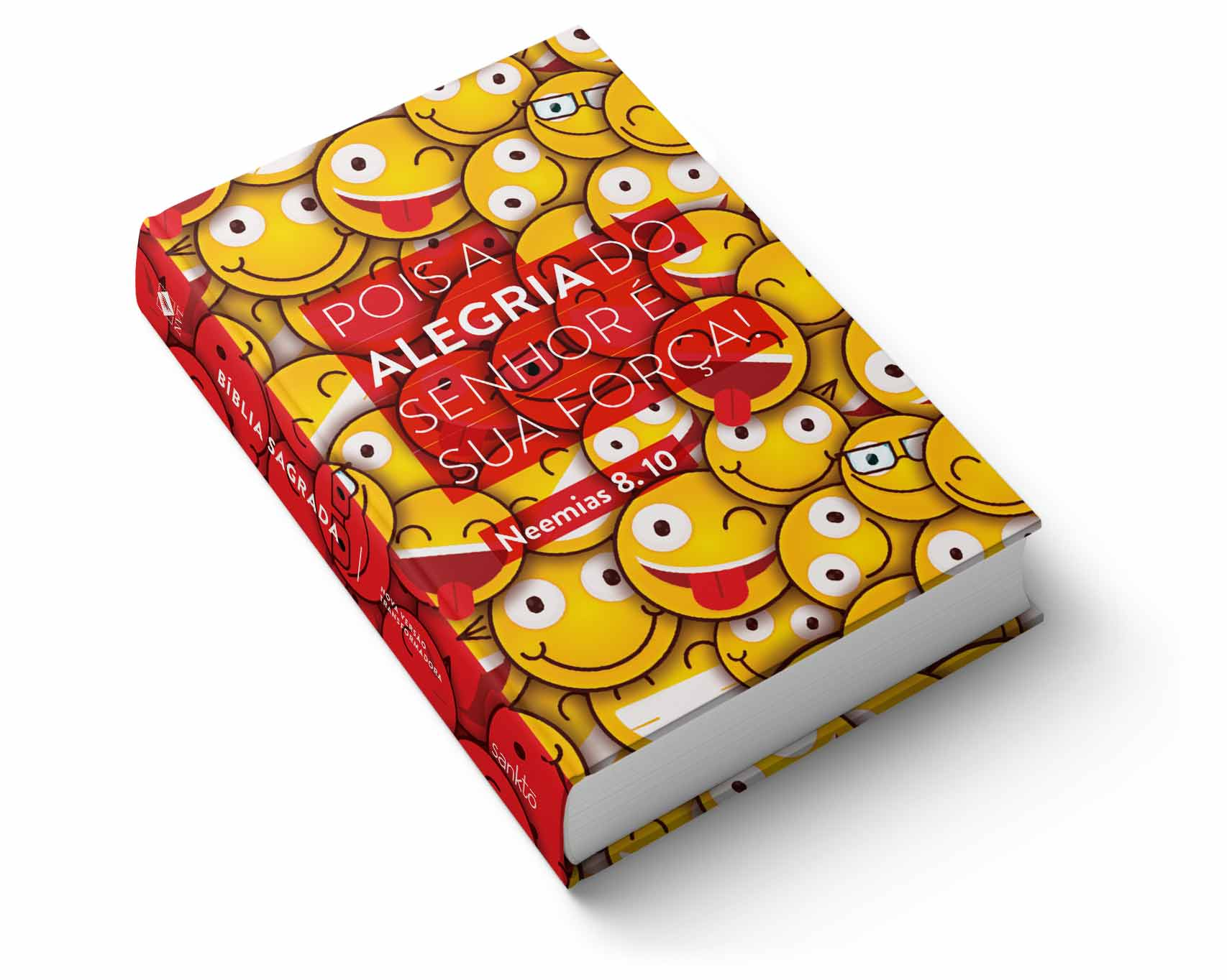 Bíblia NVT Emojis Neemias  - Sankto   Crer para entender
