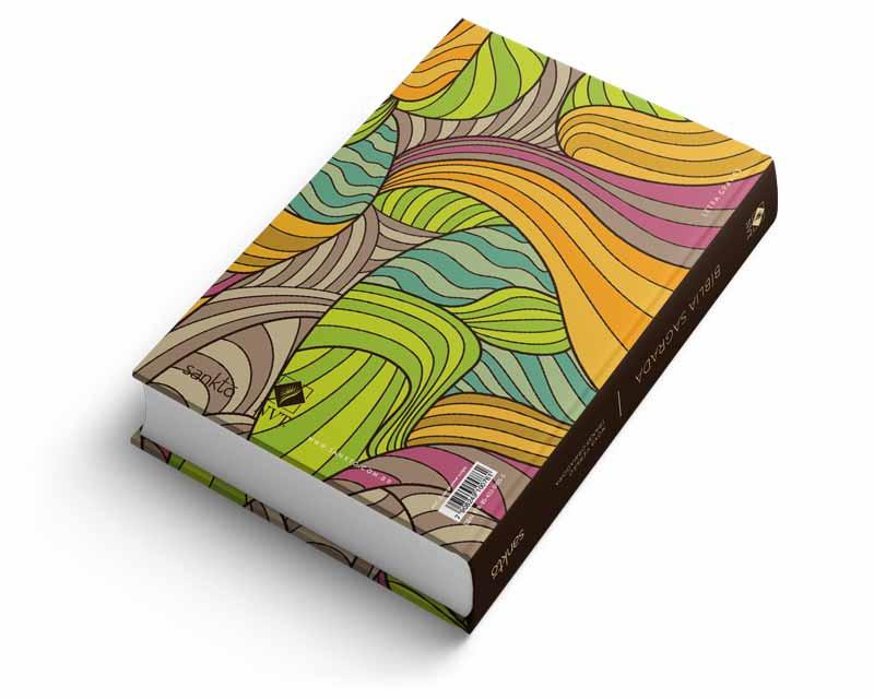 Bíblia NVT Estampa Power Stripes  - Sankto | Crer para entender