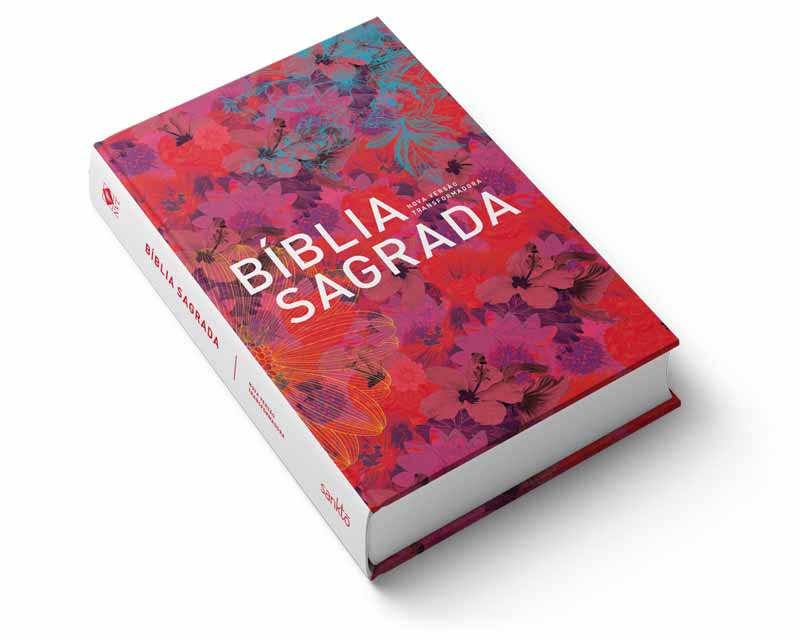 Bíblia NVT Flores Essência  - Sankto | Crer para entender