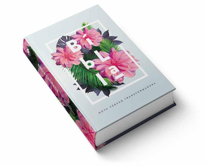 Bíblia NVT Flores Tropicais  - Sankto | Crer para entender