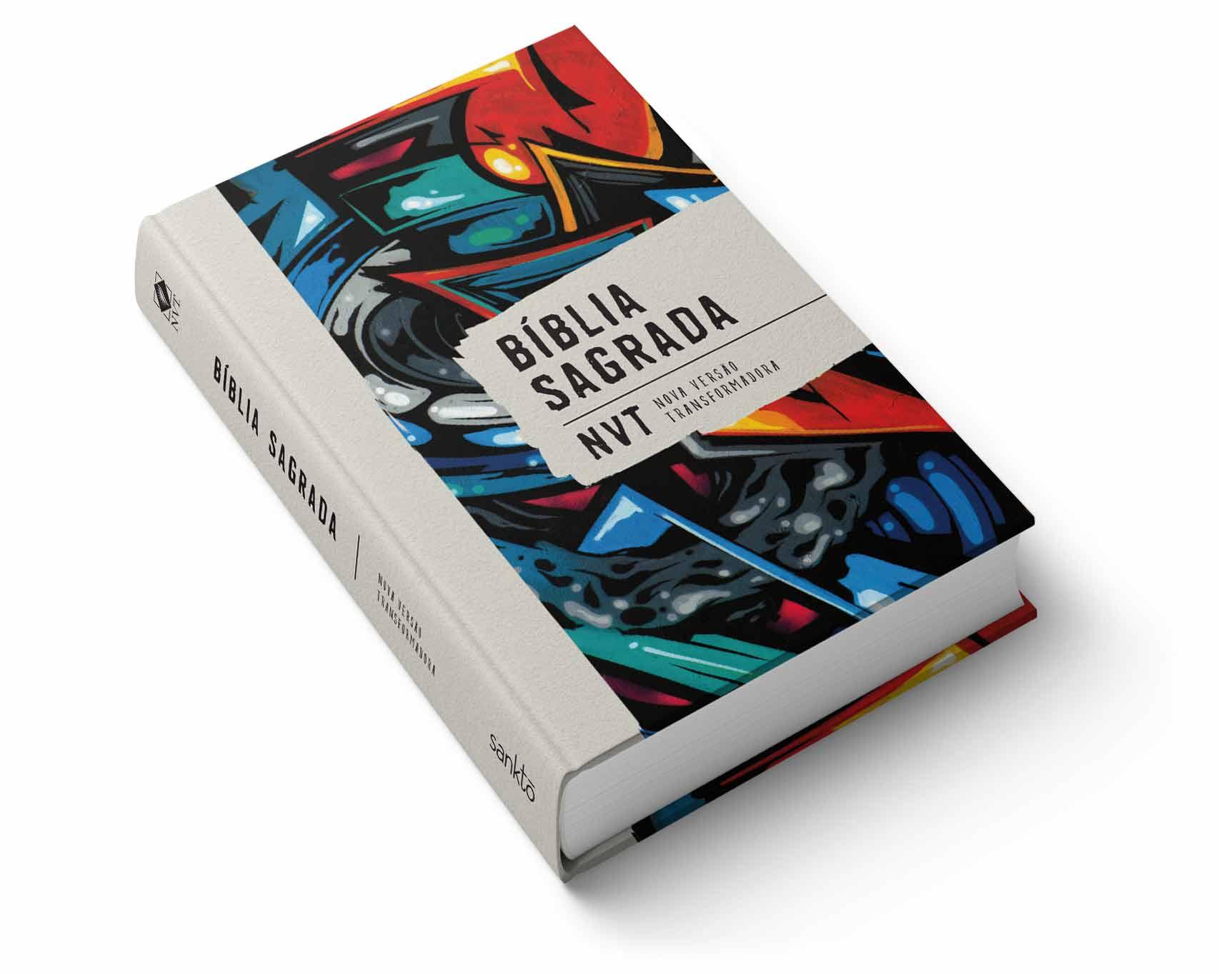 Bíblia NVT Graffiti  - Sankto | Crer para entender