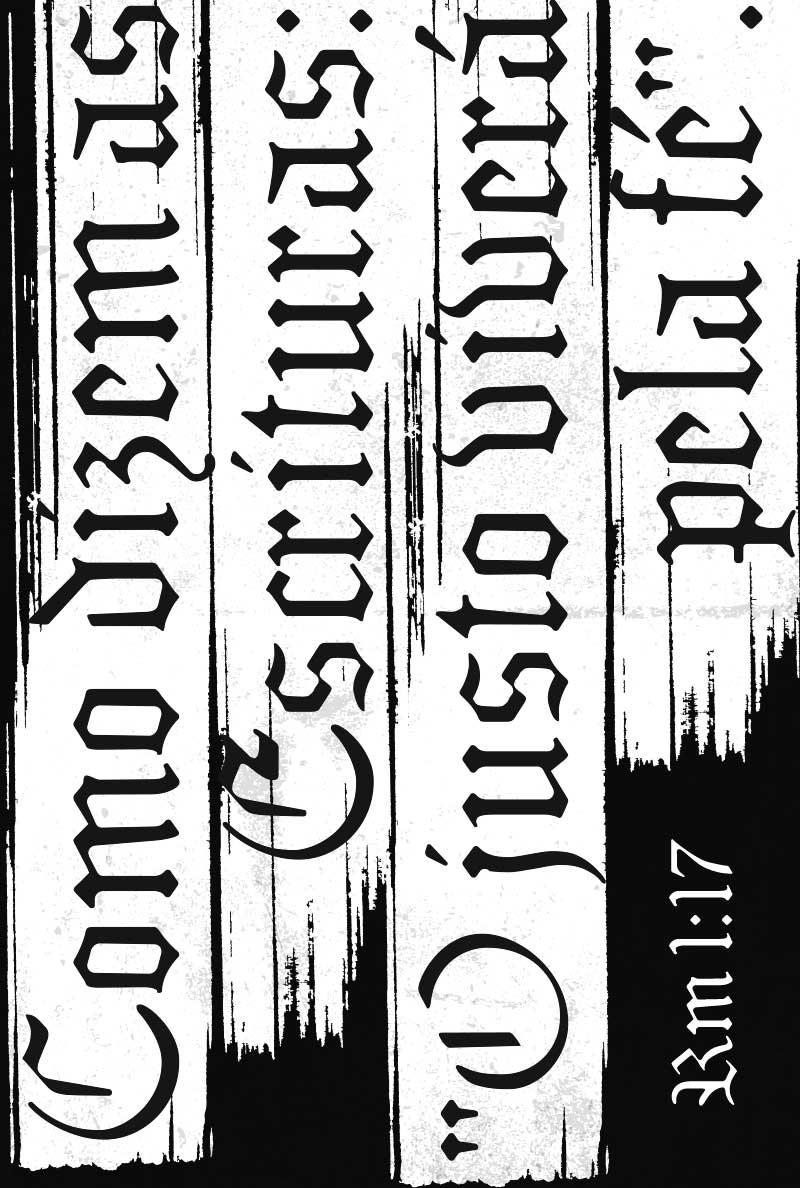 Bíblia NVT Justificados - Preta