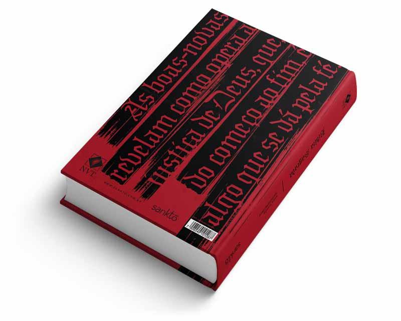 Bíblia NVT Justificados Vermelha Letra Normal  - Sankto   Crer para entender