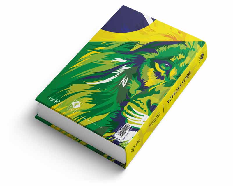 Bíblia NVT Lion Colors - Brazil  - Sankto | Crer para entender