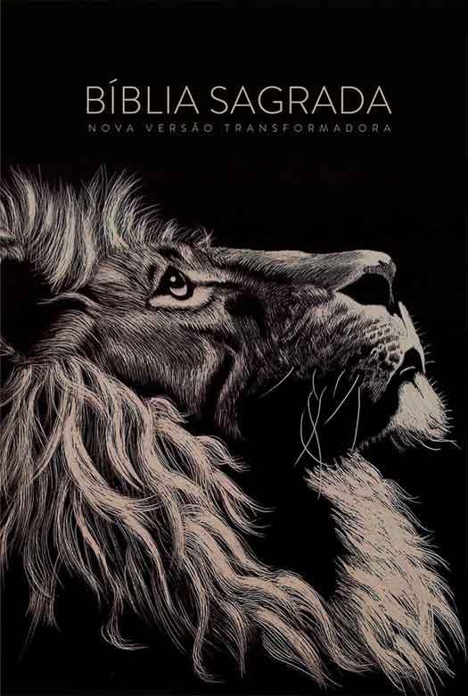 Bíblia NVT Lion Head Letra Grande