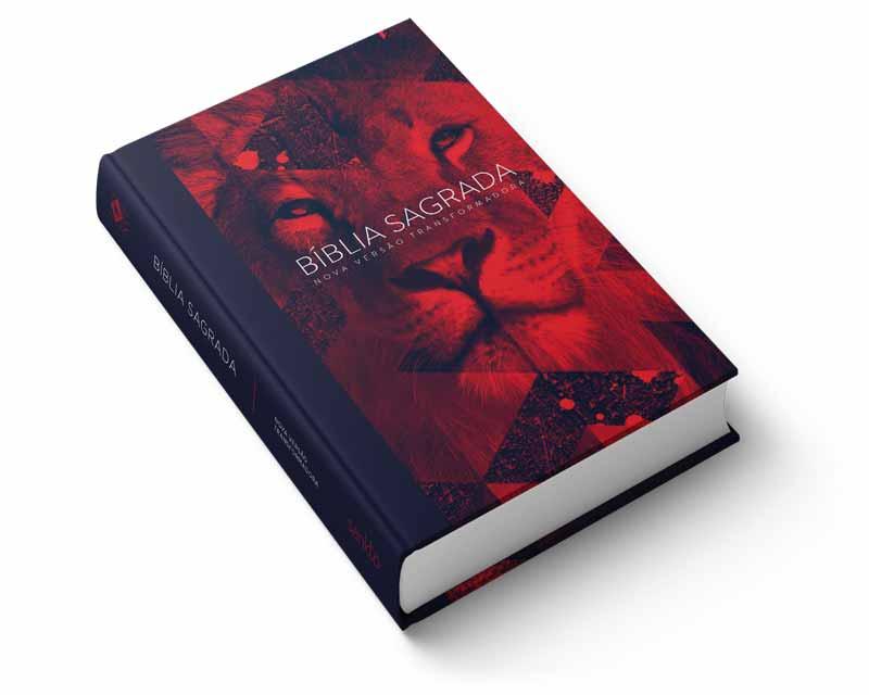 Bíblia NVT Red Lion Letra Normal  - Sankto   Crer para entender