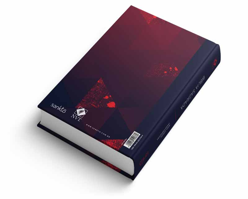 Bíblia NVT Red Lion Letra Normal  - Sankto | Crer para entender