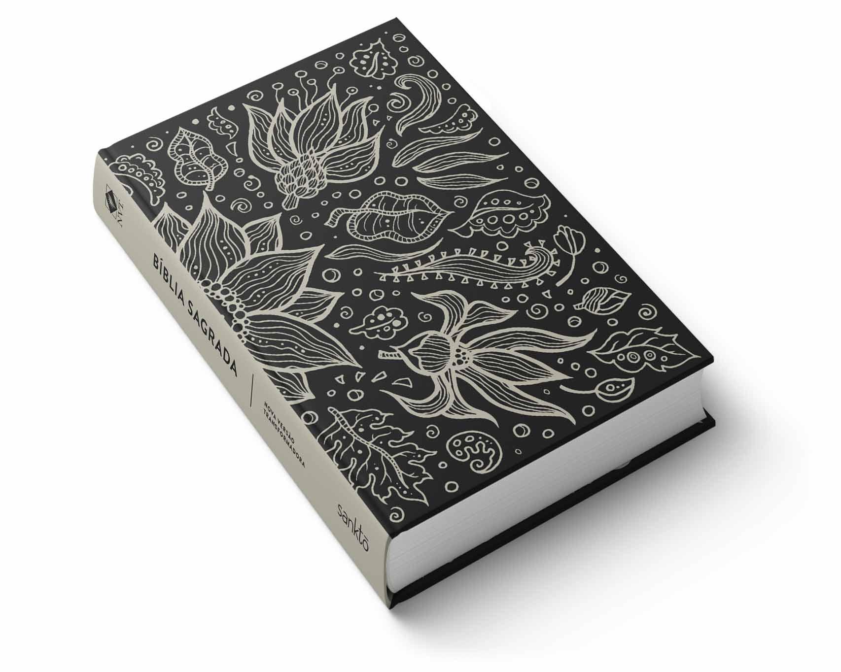 Bíblia NVT Sunflower Black  - Sankto | Crer para entender