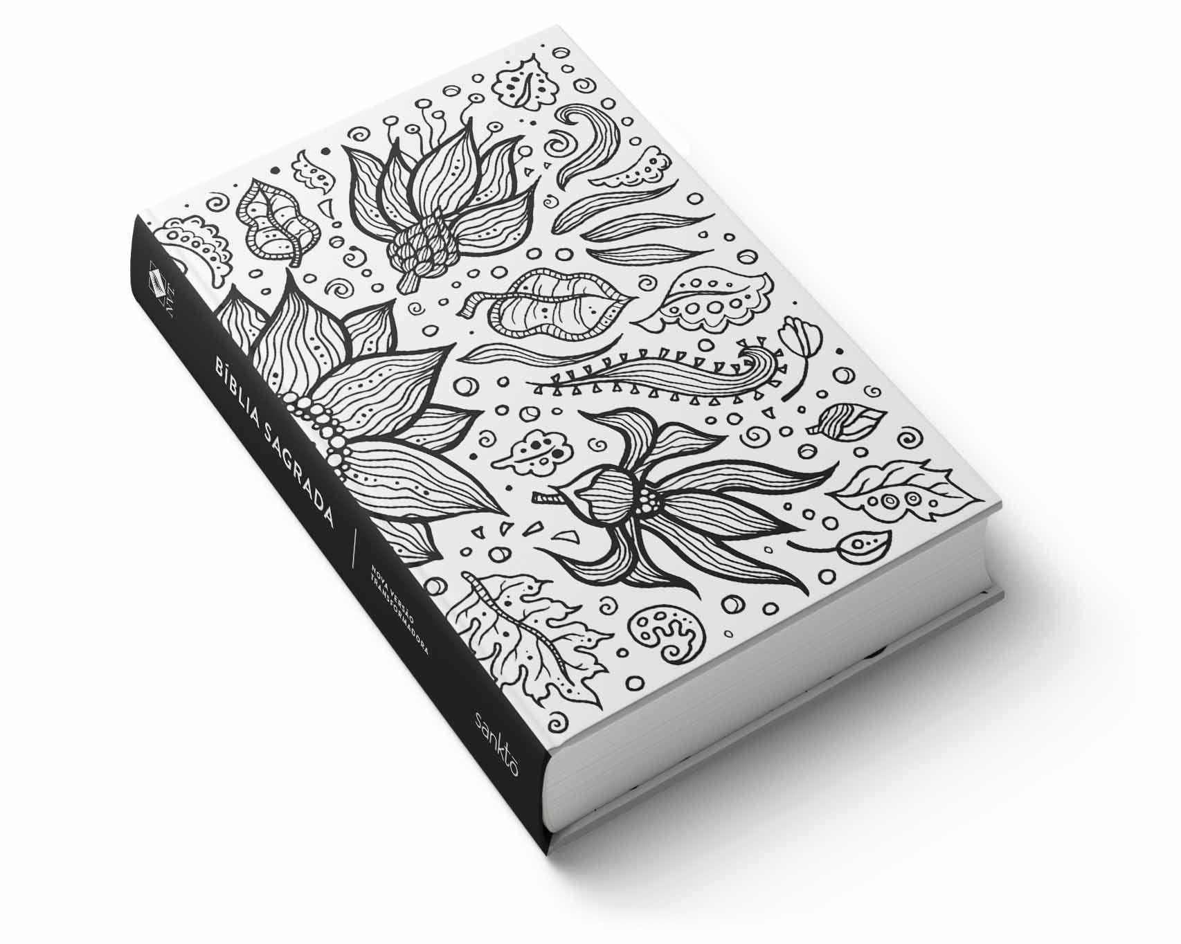 Bíblia NVT  Sunflower White  - Sankto | Crer para entender