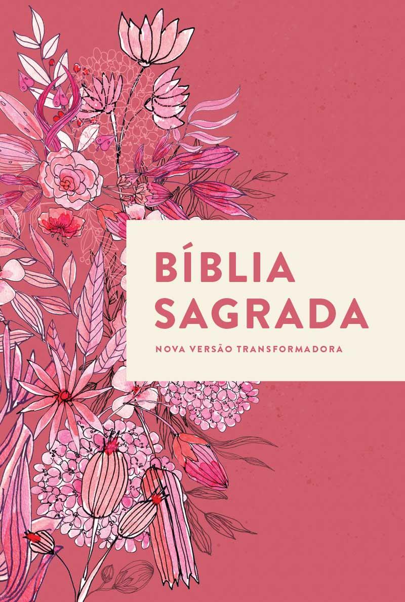 Bíblia NVT Buquê de Flores Letra Normal