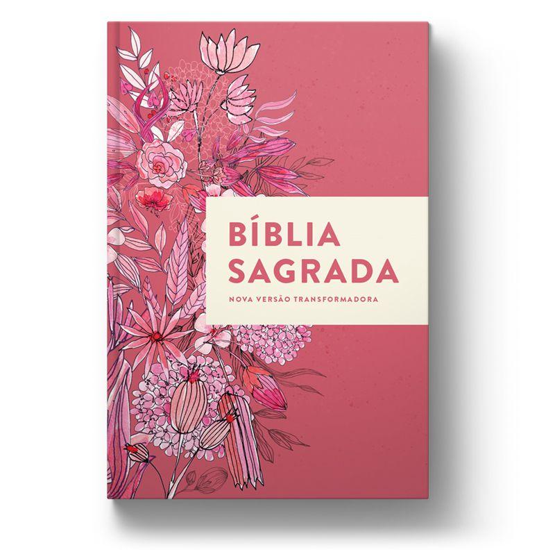 Bíblia NVT Buquê de Flores Letra Normal  - Sankto | Crer para entender