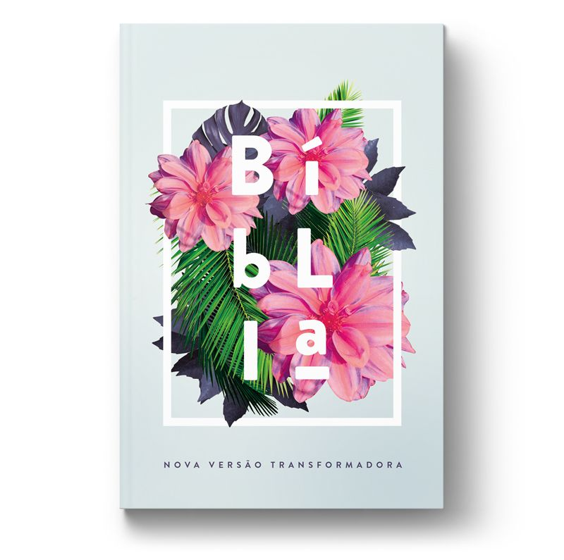 Bíblia NVT Flores Tropicais  - Sua Bíblia NVT