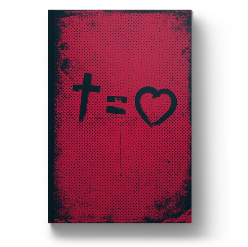 Bíblia NVT Cross Equals Love Letra Normal  - Sankto | Crer para entender