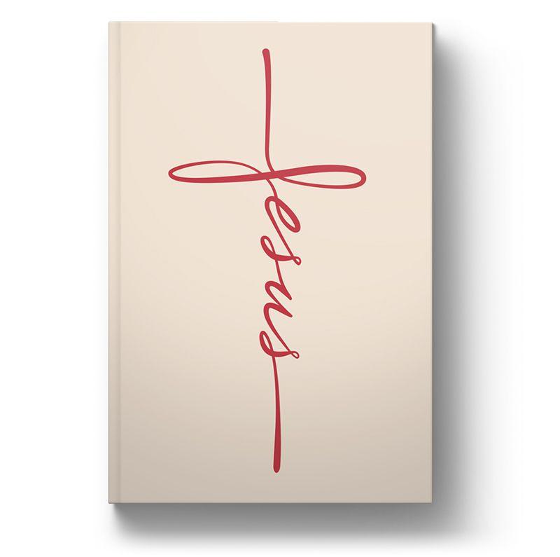 Bíblia NVT Jesus Caligrafia Vermelho Letra Grande  - Sankto   Crer para entender