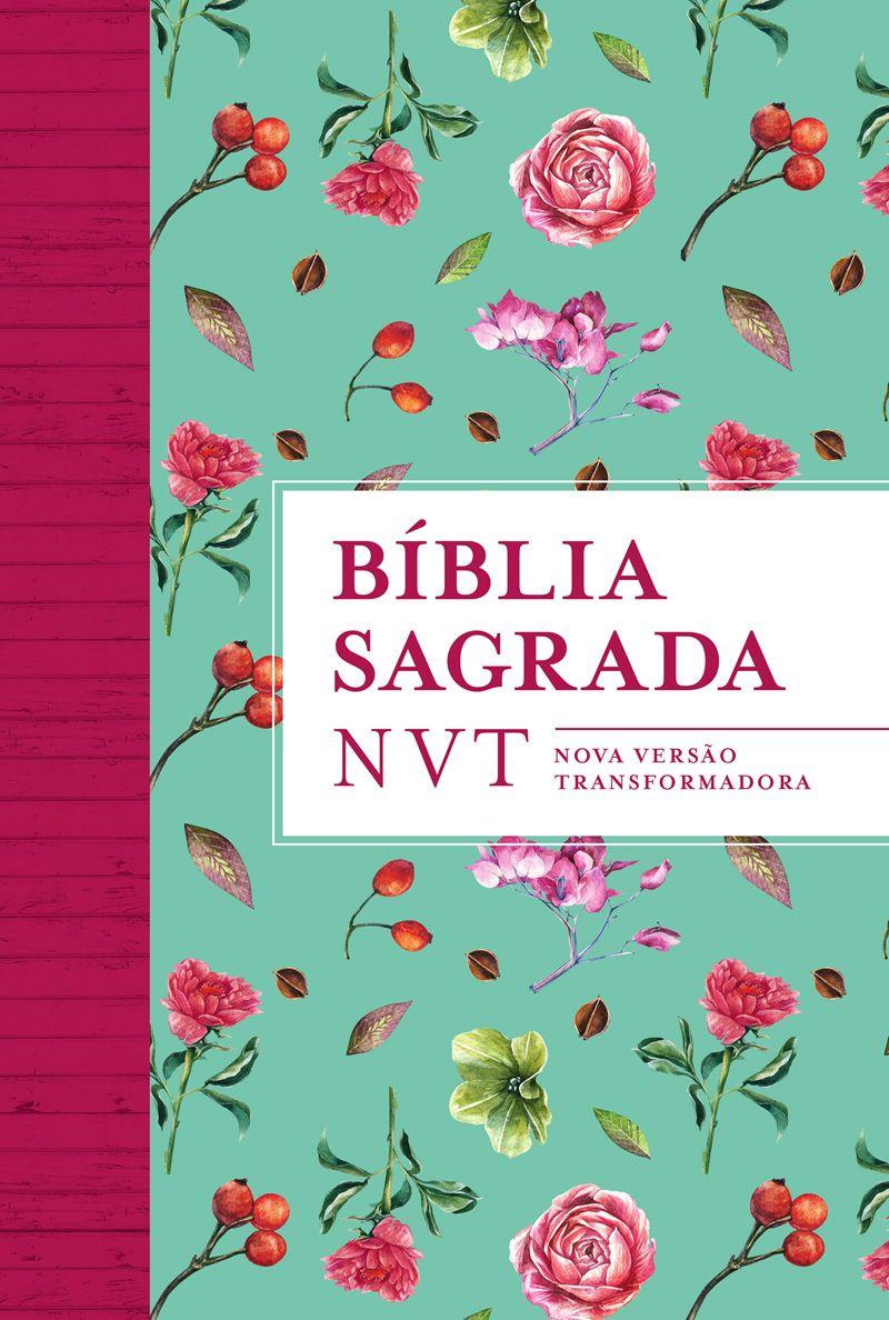 Bíblia NVT Flores Tiffany