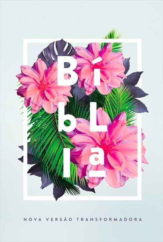 Bíblia NVT Flores Tropicais