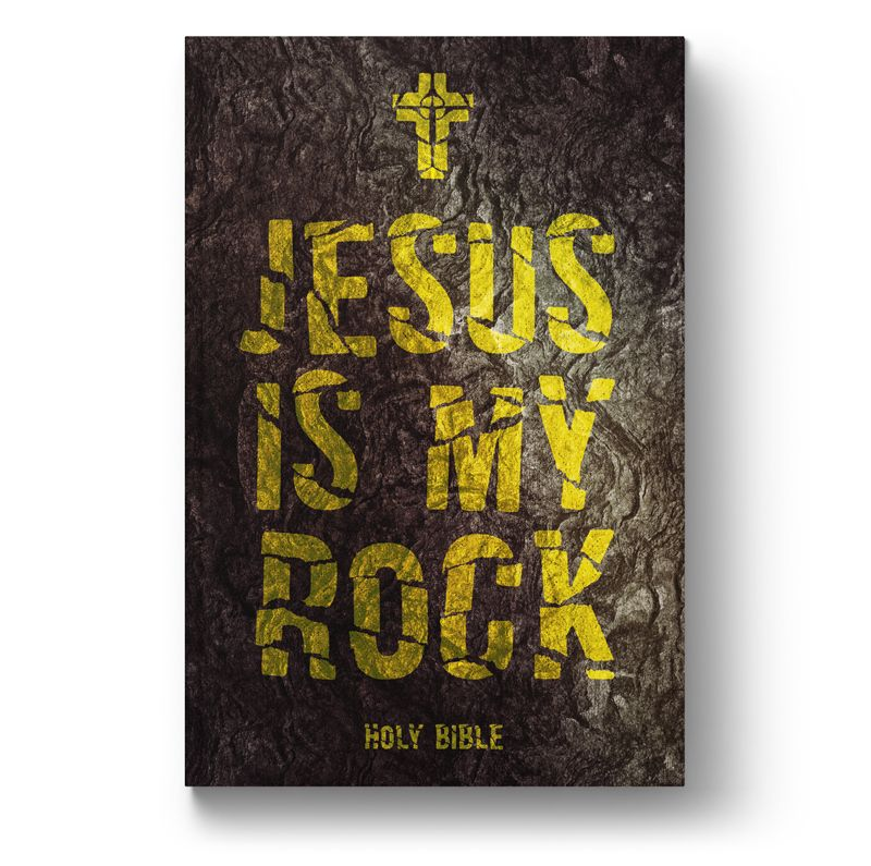 Bíblia NVT Jesus is My Rock  - Sankto | Crer para entender