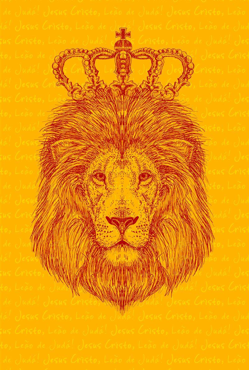 Bíblia NVT Jesus o Leão de Judá Letra Normal