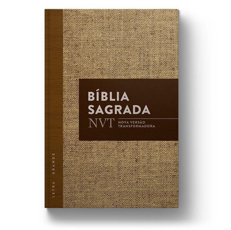Bíblia NVT Juta  - Sankto | Crer para entender