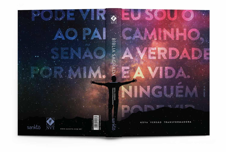 Kit Bíblia NVT Lion Colors + Eu sou o caminho (Letra Normal)  - Sankto | Crer para entender