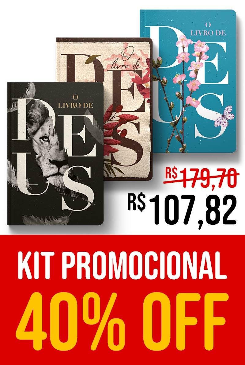 Kit Livro de Deus