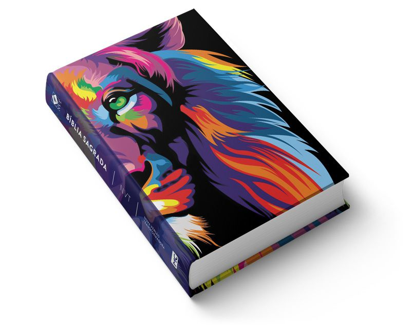 Bíblia NVT Lion Colors - Letra Grande  - Sua Bíblia NVT