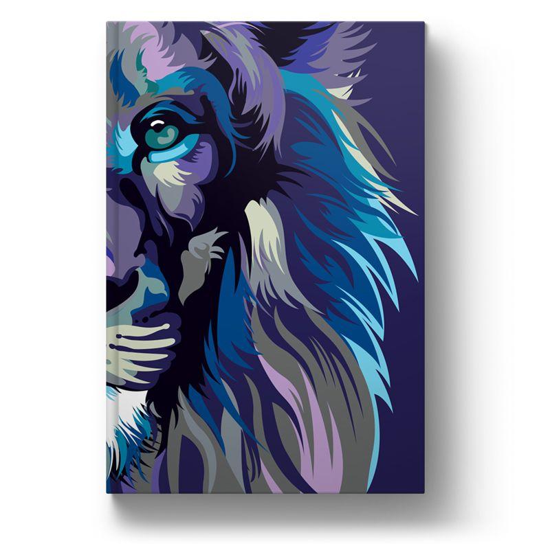 Bíblia NVT Lion Colors - Cool  - Sankto | Crer para entender