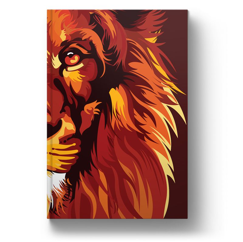 Bíblia NVT Lion Colors Fire Letra Normal  - Sankto   Crer para entender