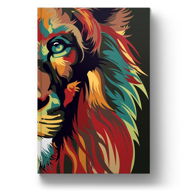 Bíblia NVT Lion Colors Nature Letra Grande  - Sankto | Crer para entender