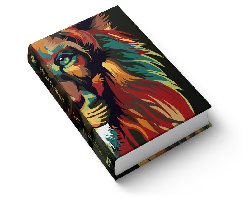 Bíblia NVT Lion Colors - Nature  - Sua Bíblia NVT