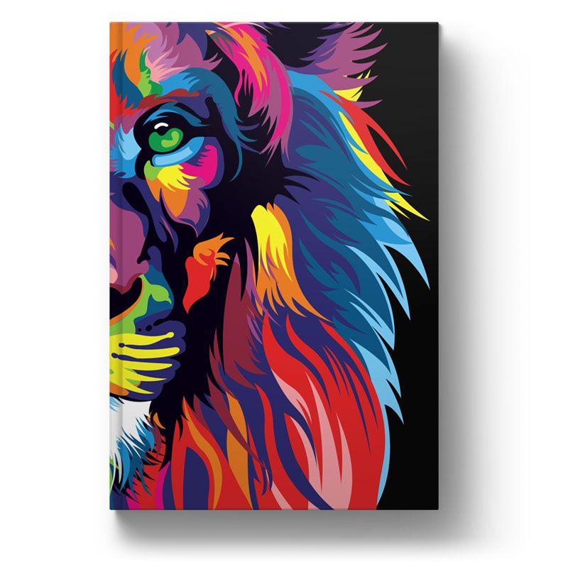 Bíblia NVT Lion Colors - Letra Normal  - Sankto | Crer para entender