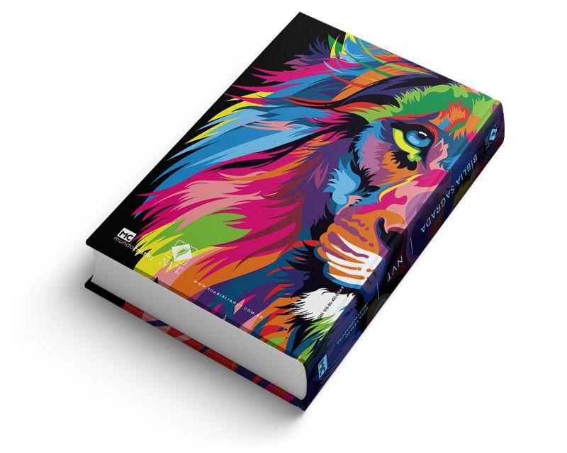 Bíblia NVT Lion Colors - Letra Normal  - Sua Bíblia NVT