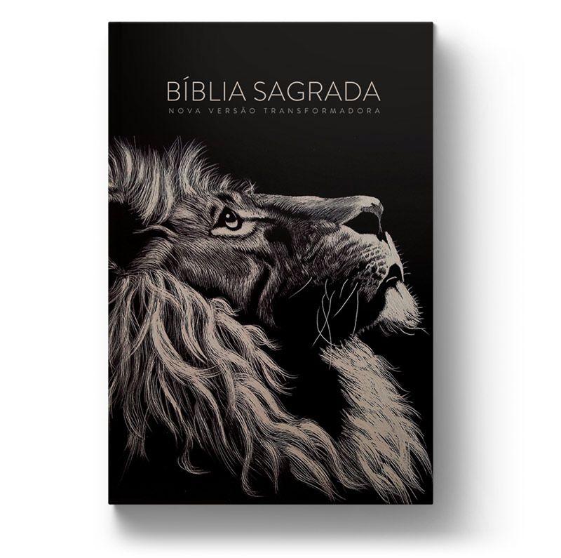 Bíblia NVT Lion Head Letra Normal  - Sankto | Crer para entender