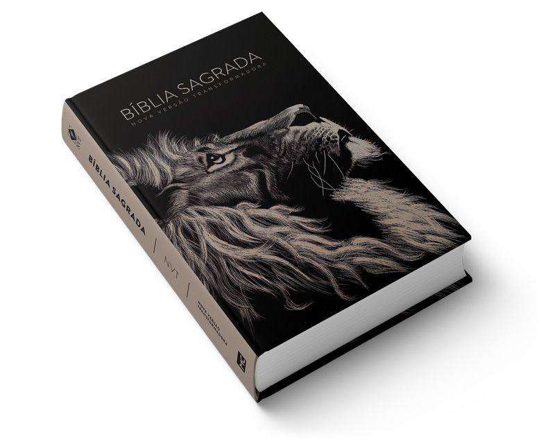 Bíblia NVT Lion Head  - Sua Bíblia NVT