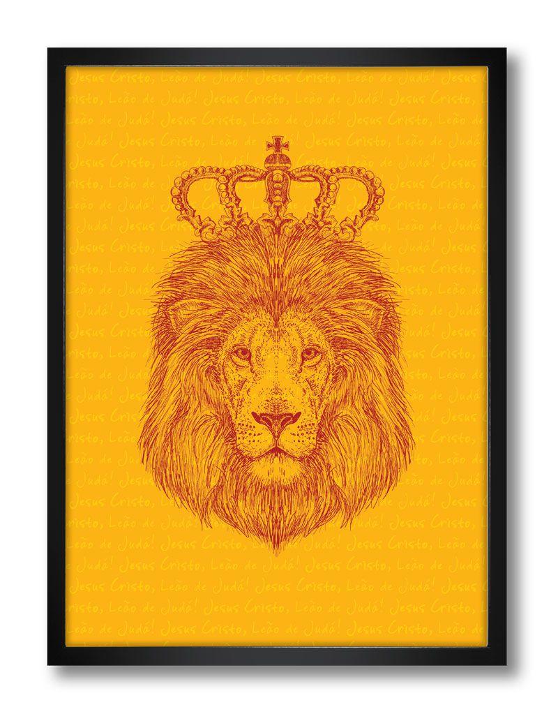 Pôster - Jesus o Leão de Judá