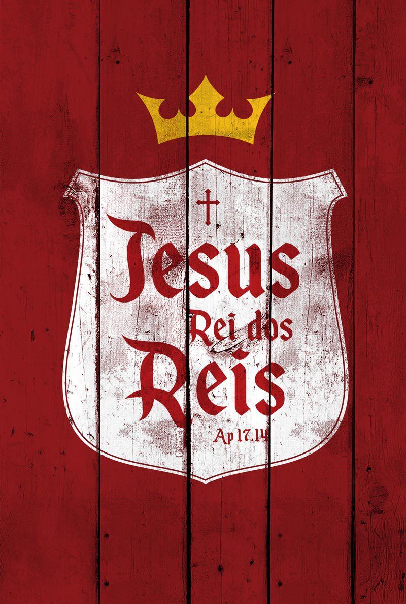 Bíblia NVT Rei dos Reis (Brasão Vermelho)