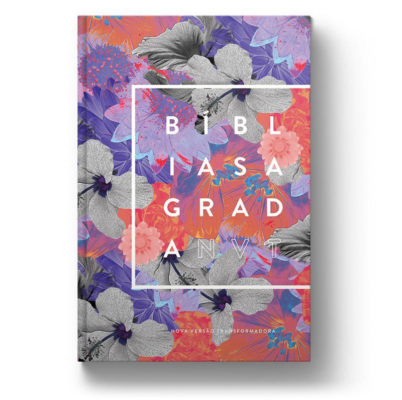 Bíblia NVT Spring Flowers  - Sankto | Crer para entender