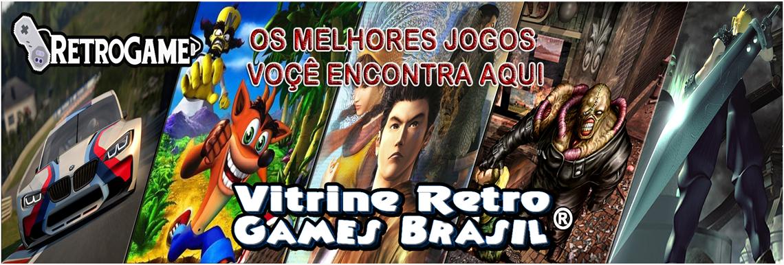 vitrine retro games brasil